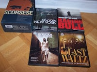 The Martin Scorsese Film Collection 4 Film Collection Very good  Vaughan