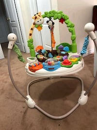 baby's white and green Fisher-Price jumperoo Brampton, L6P 3X3