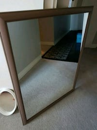 Big mirror with frame  Barrie