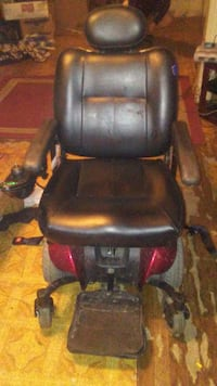 black and red motorized wheelchair Denison, 75020