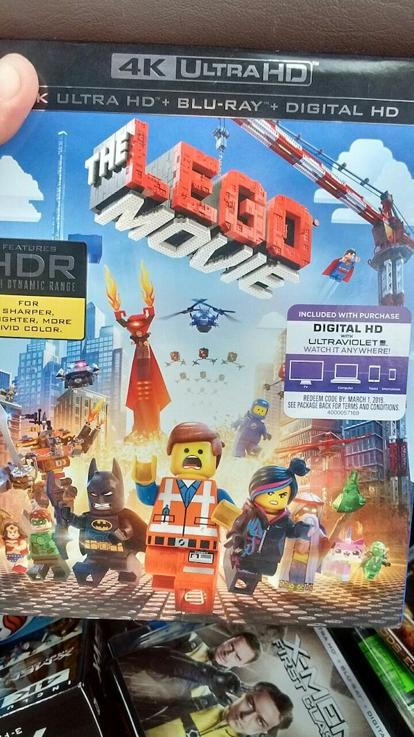 Used 4k Ultra Hd The Lego Movie Dvd Case For Sale In Pittsburgh Letgo