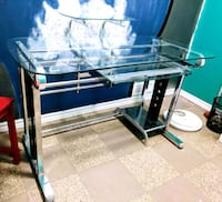 Metal and Glass Computer Desk 469 km