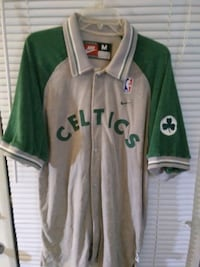 NBA Celtics warm-up jumpsuit