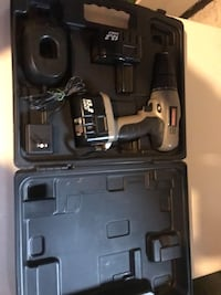 Black and gray cordless power drill Johnstown, 15904