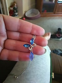 Purple Butterfly Necklace Burlington, 52601