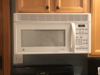 white General Electric microwave oven Buffalo, 14213