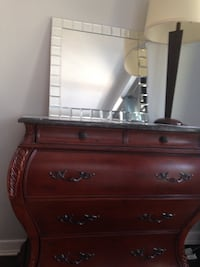 4 drawer marble top cabinet  Toronto, M9N 2L7