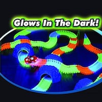 Glow Trax Glow In the Dark Playset approx 4 boxes Hamilton, ON L8E 3X9, Canada