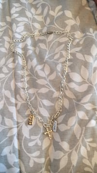 gold chain necklace with pendant Sewell, 08080