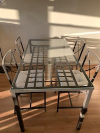 Dining table with 4 chairs- IKEA Fairfax, 22031