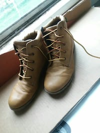 6-inch brown leather work boots Omaha, 68111