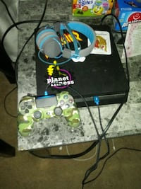 Ps4 with controller and headphones and monitor Columbia, 17512