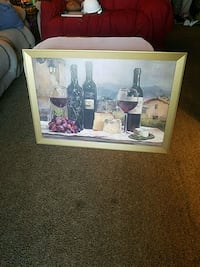 Large wine painting  Tulsa, 74134