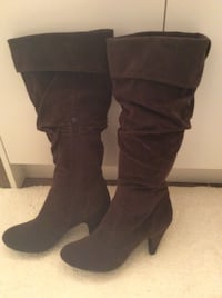 Brown Suede Boots Langley, V2Y 1P7