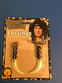 Stone Age earrings $2 Dallas, 75224