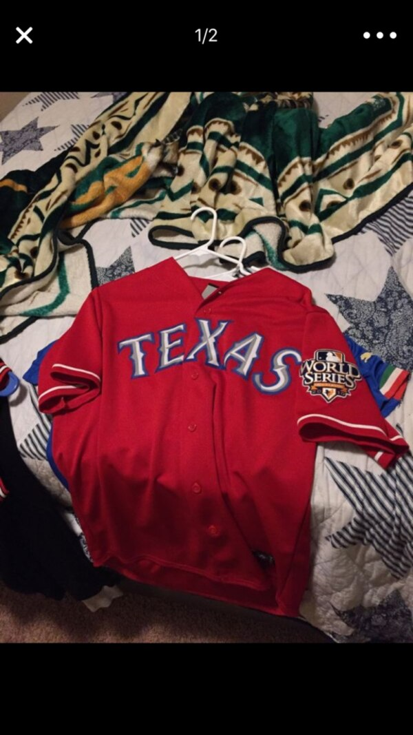best loved 077da dfbed Vintage Rangers Jersey 2010 playoffs
