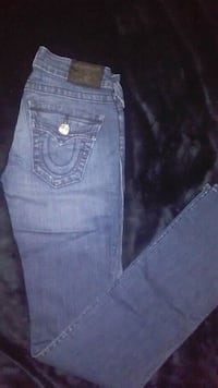 blue True Religion denim jeans Calgary, T2A 6E4
