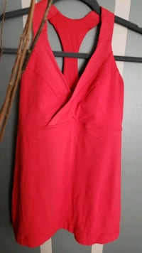 Lululemon Athletica Workout Tank in Red Courtice, L1E 1K4