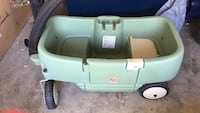 green Step 2 pull wagon