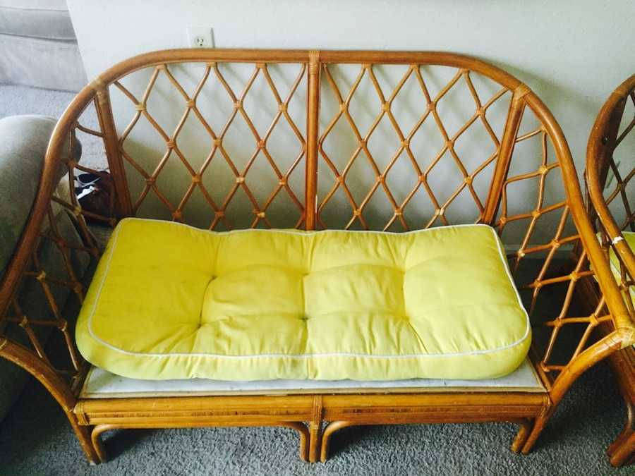 letgo Patio Furniture Couch and Chair in Kansas City MO
