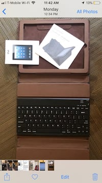 black tablet computer with keyboard Rockville, 20852