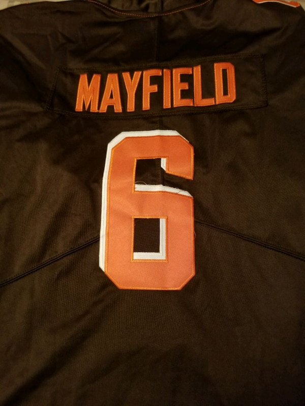 2f200e209 Used Browns Jersey Baker mayfield for sale in Green - letgo