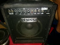 black Fender guitar amplifier Salinas, 93906