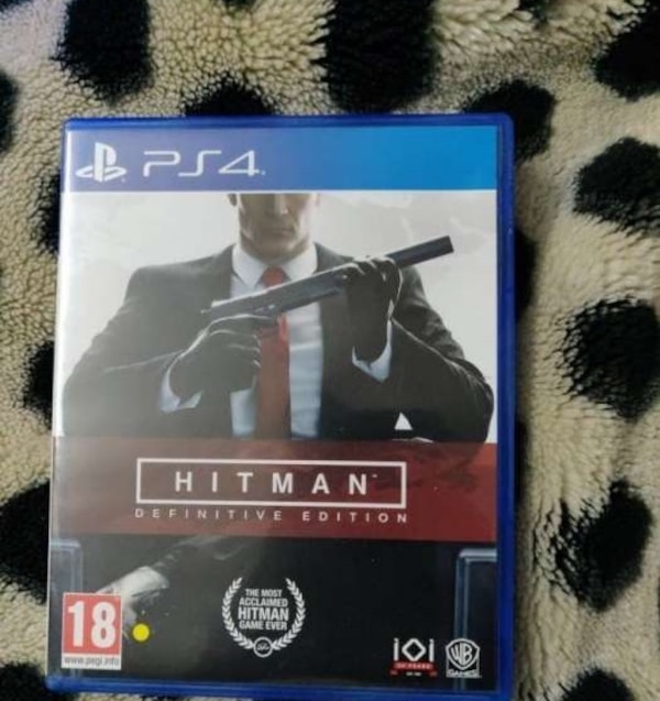 Hitman definitive edition ps4 used ( 1 week)