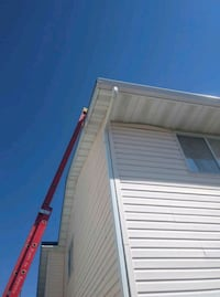 Eaves cleaning!