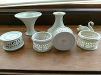 Lenox candle holders Clinton