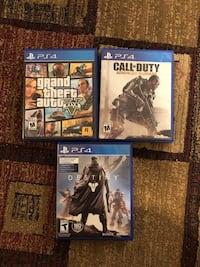 GTA 5 Destiny and Advanced Warfare for PS4 Toronto, M4H 1J6
