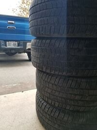 Used all weather F-150 tires michelin LTX M/S2.  275/65/18