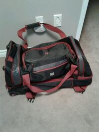 black and red duffel bag Brampton, L7A