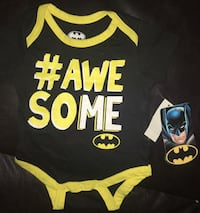 New Batman 0-3 months onzie located off lake mead and jones area asking $3 Las Vegas, 89108