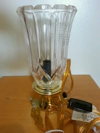 CRYSTAL & POLISHED BRASS LAMP Mississauga, L5N 2X2