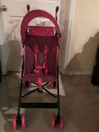 black and red pink folding stroller Tampa