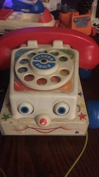 multi color fisher price rotary telephone Las Vegas, 89110