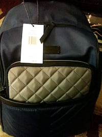 black and white leather backpack Las Vegas, 89110