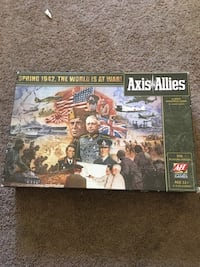 Axis & Allies board game (all pieces included) Indianapolis, 46217