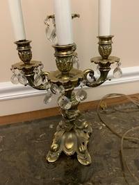 brass and gold table lamp Arlington, 22205