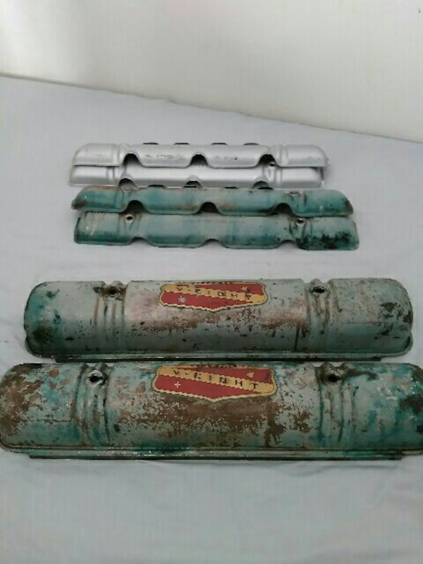 1953 322 nailhead valve covers for buick