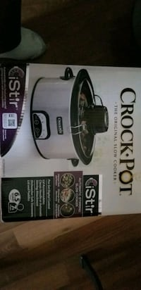 I stir crock pot