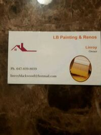 Interior painting Vaughan, L6A 3Y5