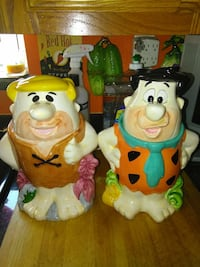 from Flintstone Fred and Fred ceramic figurines