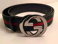 Authentic Gucci belt (black buckle) Toronto, M9W 2X3