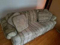 gray and white fabric sofa Lombard, 60148