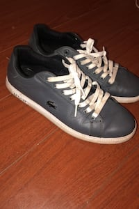 Metallic blue Lacoste shoes Surrey, V3V 3X8