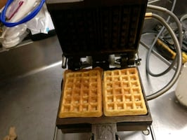 commercial grade waffle machine
