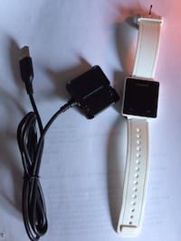 Garmin Vivoactive GPS Smartwatch, White with Charging Clip -$150 Mississauga