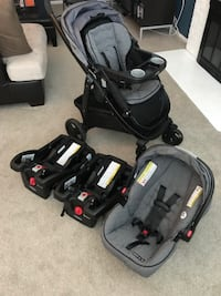 Graco Modes Car Seat, Two Bases and Stroller Fairfax